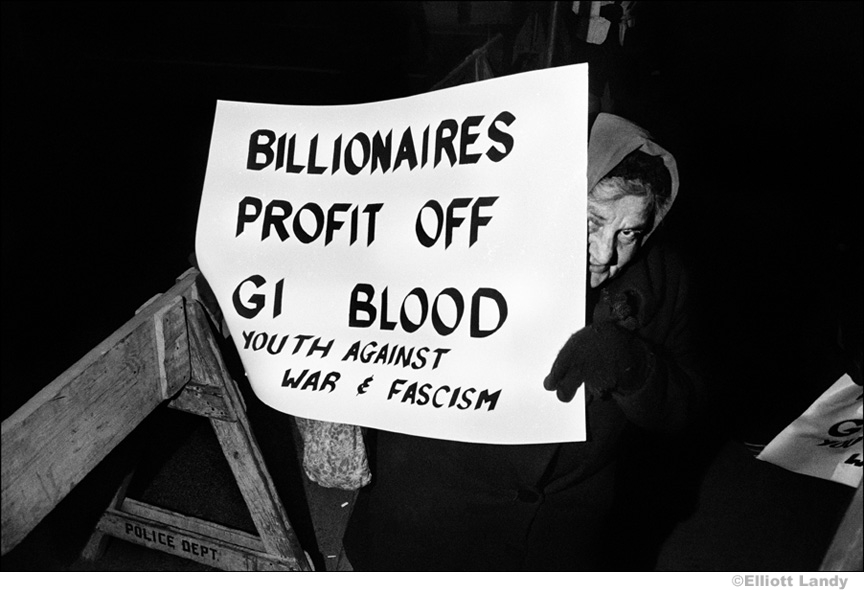025 Demonstration against South African diamond mining, NYC, 1968