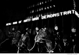 050 News of the demonstration announced while it was happening, Times Sq., NYC, 1968
