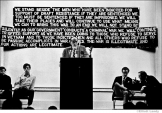 """001 Rev. William Sloan Coffen urges people to """"refuse the draft"""", NYC, 1967"""