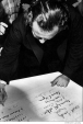 004 Norman Mailer, supports conscientious objectors, my signature is above, NYC, 1967