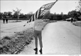 012 Pro-war demonstrator, Pentagon peace demonstration, Washington, DC 1967