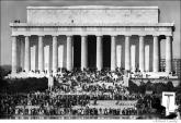 015 Lincoln Memorial, Pentagon Peace Demonstration, Washington, DC 1967