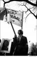 033 Peace demonstrators, Washington Square Park, NYC, 1968