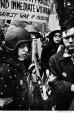 034 Peace demonstrators, Washington Square Park, NYC, 1968