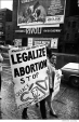 062 Hypocrisy - society's message. Abortion rights demonstration, NYC, 1968
