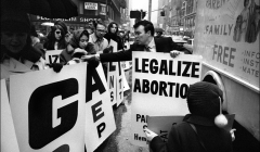 064 Abortion Rights demonstration, NYC, 1968