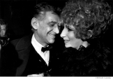 036 Leonard Bernstein, Barbra Streisand, Lincoln Center, NYC, 1968