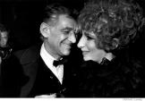 036 Leonard Bernstein, Barbra Streisand, Lincoln Center, NYC, 1968