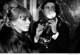 046 Britt Eklund, opening night party, NYC, 1968
