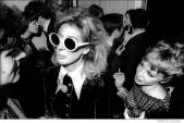 051 Tiger Morse, Andy Warhol Book publishing party, Random House, NYC, 1968