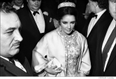 055 Elizabeth Taylor, opening night, 'Dr. Faustus', NYC, 1968