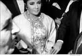 058 Elizabeth Taylor, opening night, 'Dr. Faustus', NYC, 1968