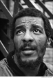 093 Richie Havens, outside his east village apartment, NYC, 1968
