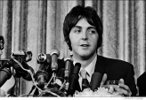 565 Paul McCartney, press conference announcing formation of Apple Records, NYC, 1968