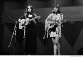 586 Joan Baez and Mimi Farina, Newport Folk Festival, Newport, Rhode Island, 1968