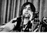 128 John Lennon, press conference announcing formation of Apple Records, NYC, 1968