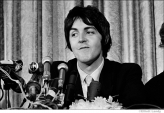 566 Paul McCartney, press conference announcing formation of Apple Records, NYC, 1968