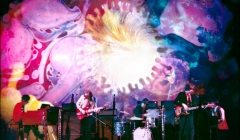 070 Procol Harum, Joshua Light Show, Fillmore East, NYC, 1968