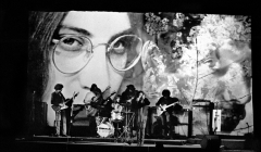 076 The Fugs with anti-Vietnam War light show, Anderson Theater, NYC, 1968
