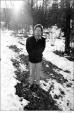 331 Bob Dylan, outside my home, Nashville Skyline photo sessions, Woodstock, NY, 1969
