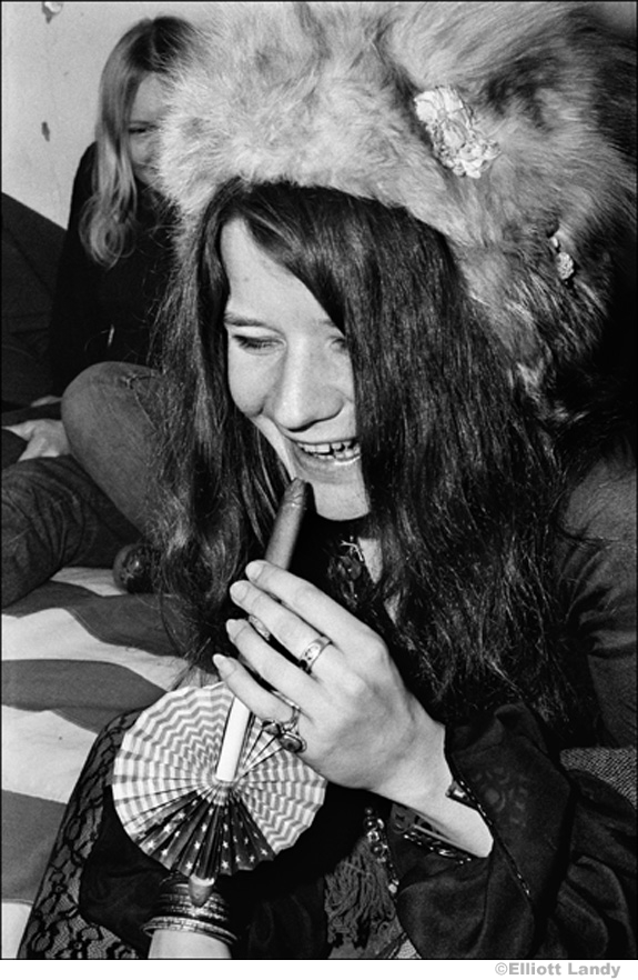 179 Janis Joplin, in MC5 commune pad, Detroit, 1968