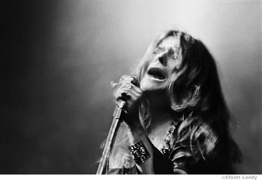 192 Janis Joplin, Big Brother and The Holding Company. Anderson theater, NYC, 1968