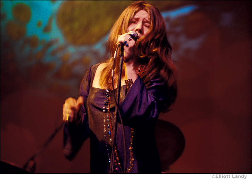 196 Janis Joplin, Big Brother and The Holding Company. Joshua Light Show, Anderson Theater, NYC, 1968