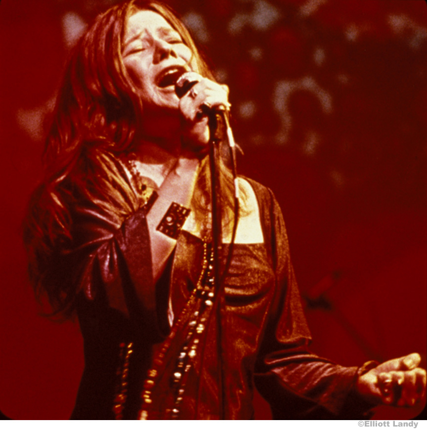 200 Janis Joplin, Big Brother and The Holding Company. Joshua Light Show, Anderson Theater, NYC, 1968