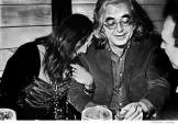 186 Janis Joplin and her manager, Albert Grossman, press party for signing with Columbia Records, NYC, 1968