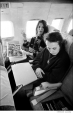 175 Janis Joplin and Big Brother drummer Dave Getz, on their way to Detroit, 1968