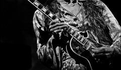 205 Jimi Hendrix, Fillmore East, NYC, 1968. Playing Gibson Les Paul