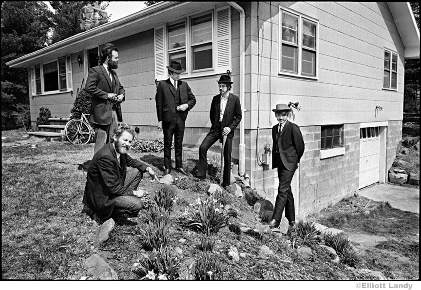 232 The Band behind Big Pink, Easter Sunday, West Saugerties, NY, 1968