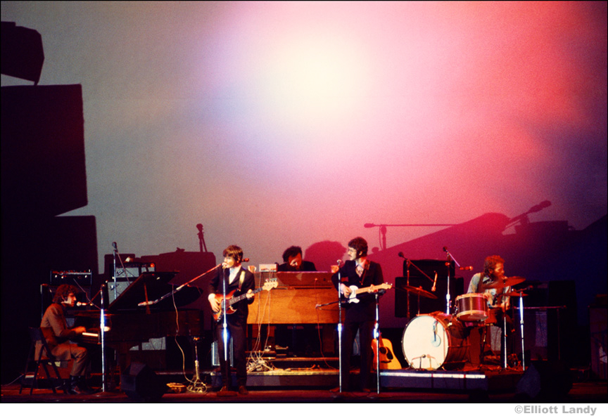 276-The-Band-at-the-Fillmore-East-with-the-Joshua-Light-Show-behind-them-NYC-1969