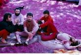 257-The-Band-Richard-Garth's-house-above-the-Ashokan-resevoir-infrared-film-Woodstock-1969