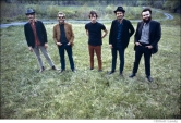 250 The Band, in front of Levon and Rick's house, Bearsville, Woodstock NY, 1968