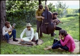 260 The Band, Richard & Garth's house above the Ashokan resevoir, Woodstock, 1969