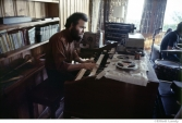 265 The Band, Garth Hudson, at home on Spencer Rd. above the Ashokan reservoir, Woodstock,1969