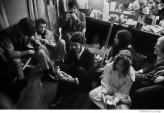 287 The Band & friends including Albert & Sally Grossman, backstage, Fillmore East, NYC, 1969