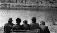 235 The Band behind Big Pink, Easter Sunday, West Saugerties, NY, 1968