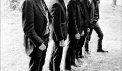 249-The-Band-in-front-of-Levon-and-Ricks-house-Bearsville-Woodstock-NY-1968