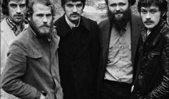 562 The Band, The Band album cover photo, John Joy Road, Zena, Woodstock, NY, 1969