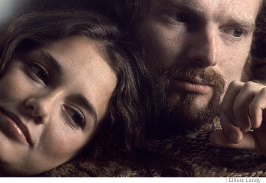 137 Van Morrison and his wife Janet Morrison, Woodstock, NY, 1969