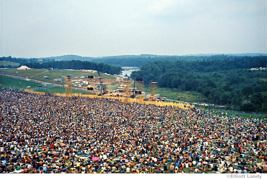 1969 Woodstock Festival Gallery – Elliott Landy