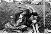 383 Couple with Woodstock programs, Woodstock Festival 1969, NY