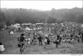 406 Looking toward the open mic stage, Woodstock Festival 1969, NY