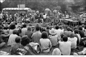 409 The open mic free stage, Woodstock Festival 1969, NY