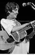438 Joan Baez, pregnant, Woodstock Festival 1969, NY