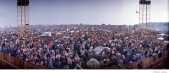 442 Woodstock Festival 1969, NY. Photographed with a Widelux camera