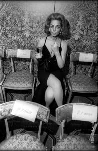 Lauren Bacall, International Film Awards ceremony, NYC 1968.