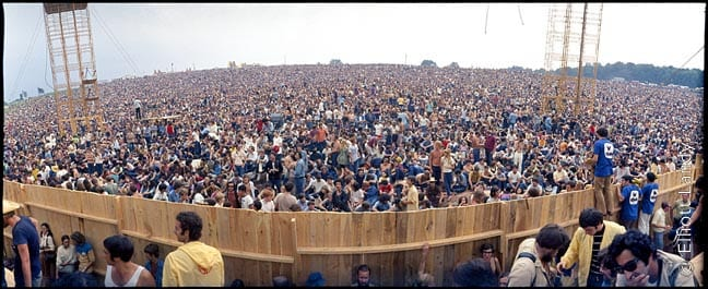 The Woodstock Festival, 1969